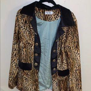 NWOT Leopard print blazer jacket